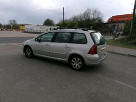 Peugeot 307 Estate automatic *not Ford desiel tdi px seat vauxhall