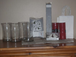 left over decorations from wedding