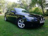 2004 BMW 525d 2.5 Diesel Automatic Black Full Leather I-drive
