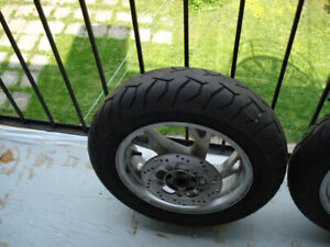 roues scooter