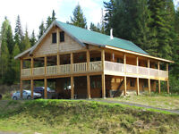 FOR SALE: In Beautiful Wells Gray Park, Clearwater, BC
