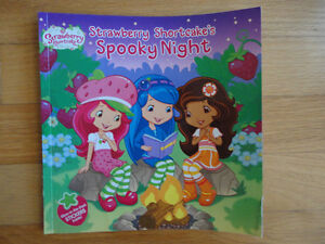 Strawberry Shortcakes Spooky Night book with stickers