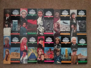 DOCTOR WHO  MISSING ADVENTURE BOOKS, TARGET BOOKS, AND SPECIAL