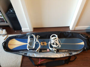 Snowboard and gear (women's)