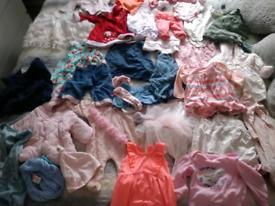 Reborn doll clothes bundle