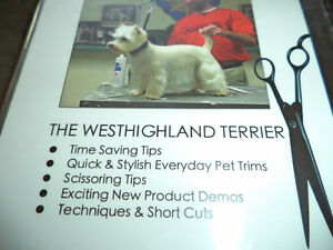 DVD of the Westhighland Terrier / Instructional Grooming DVD