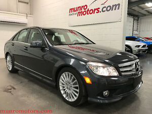 2010 Mercedes-Benz C250 4MATIC Sunroof Wheels Camera Low Kms