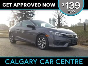 2016 Civic Coupe $139B/W TEXT US FOR EASY FINANCING 587-582-2859