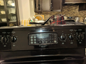 Black Electric Range with Great Options