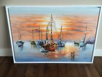 great Oil Painting 37 x 25 inch with frame