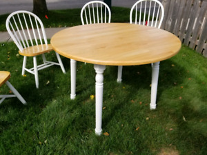 Round Folding Kitchen Table