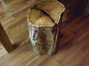 RUSTIC LIVE EDGE STOOLS, ACCENT PIECE, COFFEE TABLE  Kitchener / Waterloo Kitchener Area image 4