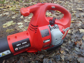 Easy Use Sovereign Petrol Leaf Blower Just Serviced Good Working Order