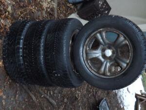 Winter Wheels Subaru 16 Inch