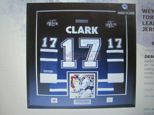 JERSEY-PIC FRAMING-LEAFS-WINTER-GOLD -NFL- BLUE JAYS-ALL SPORTS