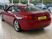 2014 BMW 4 Series 420D M SPORT Diesel red Automatic