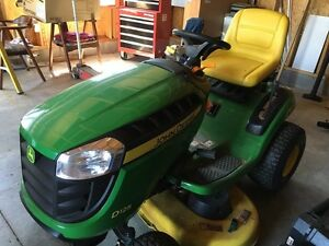 *****JOHN DEERE D125 RIDING LAWNMOWER*****