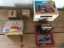 Job lot of old Mamod engines etc.