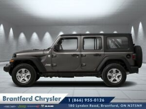 2019 Jeep Wrangler Unlimited Sahara  - Navigation - $345.42 B/W