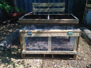 Cage à lapin ou à caille