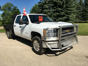 2011 CHEV SILVERADO 3500 HD CREW CAB 4x4 NOW $1500 OFF