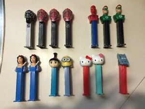 Assorted Pez Dispensers