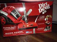 Aspirateur sur roulettes Dirt Devil sans sac