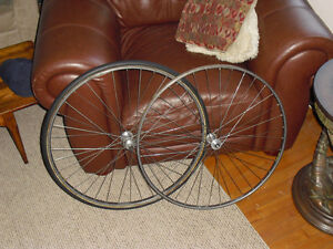 Vintage Zeus fixie wheelset 126 rear spacing Nisi tubular single