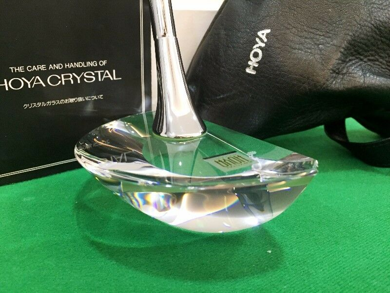 RAREST!!! Highly Collectible HOYA Crystal Putter New-In-Box – Japan