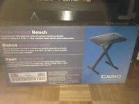 Casio portable keyboard bench-brand new in box!