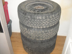 pneu d'hiver avec rim