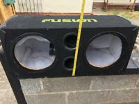 """Free sub box for 12"""" speakers"""