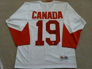Paul Henderson Team Canada 1972 autographed Jersey