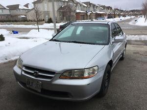 1999 Honda Accord EX-L Sedan