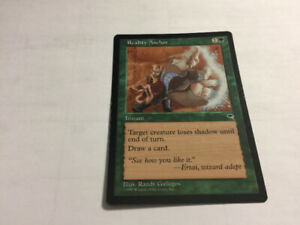 1997 REALITY ANCHOR Magic The Gathering Tempest UNPLYD NM -MT.