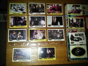 Batman Movie Cards
