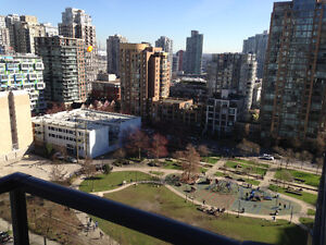 Fully Furnished Studio at Brava Tower A in Yaletown - July 1st