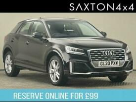 image for 2020 Audi Q2 1.6 TDI 30 S line SUV 5dr Diesel S Tronic (s/s) (116 ps) SUV Diesel