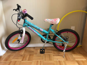 Kid's cycle for sale. For ages upto 8 yrs. Like new. $70.
