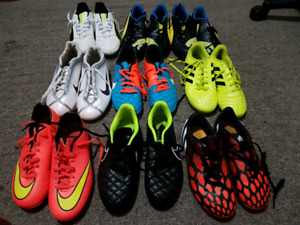 Indoor and Outdoor Soccer Shoes.