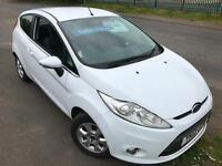 FORD FIESTA 1.6TDCi ECONETIC ZETEC DIESEL FREE TAX £29 WEEK BLUETOOTH 3DR 2012