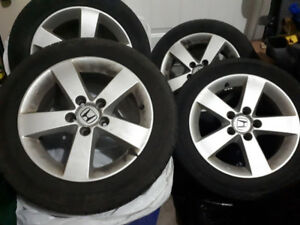 Honda Civic RiMs and Tires 205/55/R16