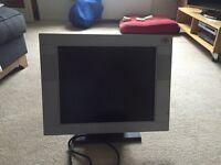 "PC 17""flat screen Monitor"