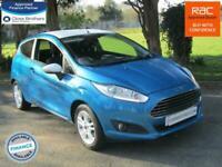 Ford Fiesta 1.25 Zetec Blue Edition**42K**NAV**BLUETOOTH**DAB**FSH**