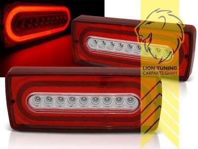 Light Bar LED Rückleuchten Heckleuchten für Mercedes Benz W463 G Klasse rot weiß