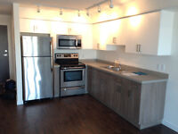 New one bedroom apartment with in-suite laundry