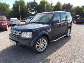 2011 11 LAND ROVER DISCOVERY 4 3.0 SD V6 GS 5DR DIESEL