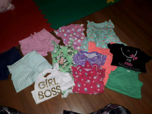 12 month summer girl clothes