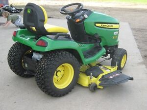2013 John Deere X530 lawn tractor with 54 inch mower