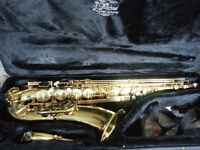 J. Michael Tenor Sax, with carrying case & Accessories